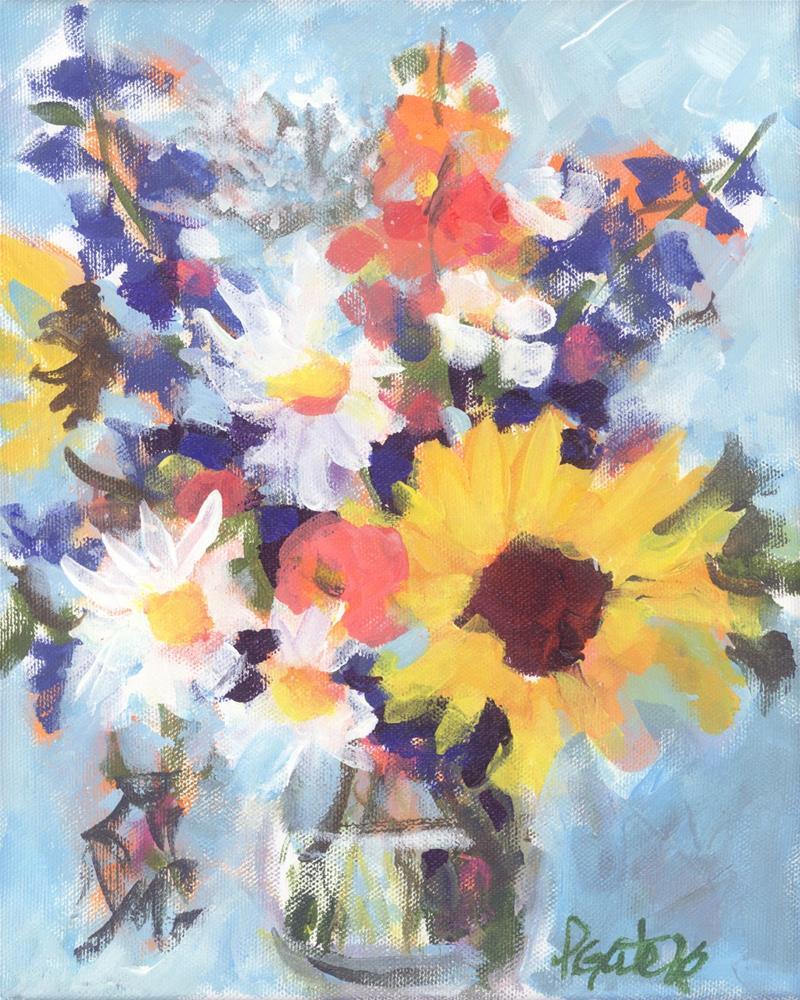 """Sunny Day"" original fine art by Pamela Gatens"