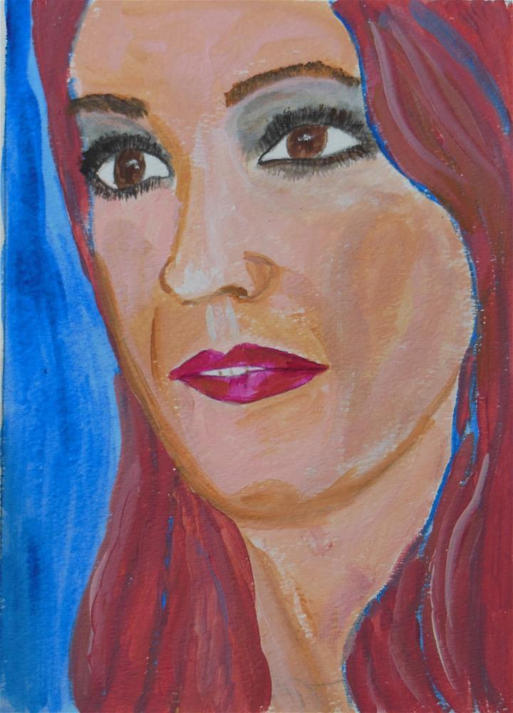 """Amanda"" original fine art by Brenda Smith"