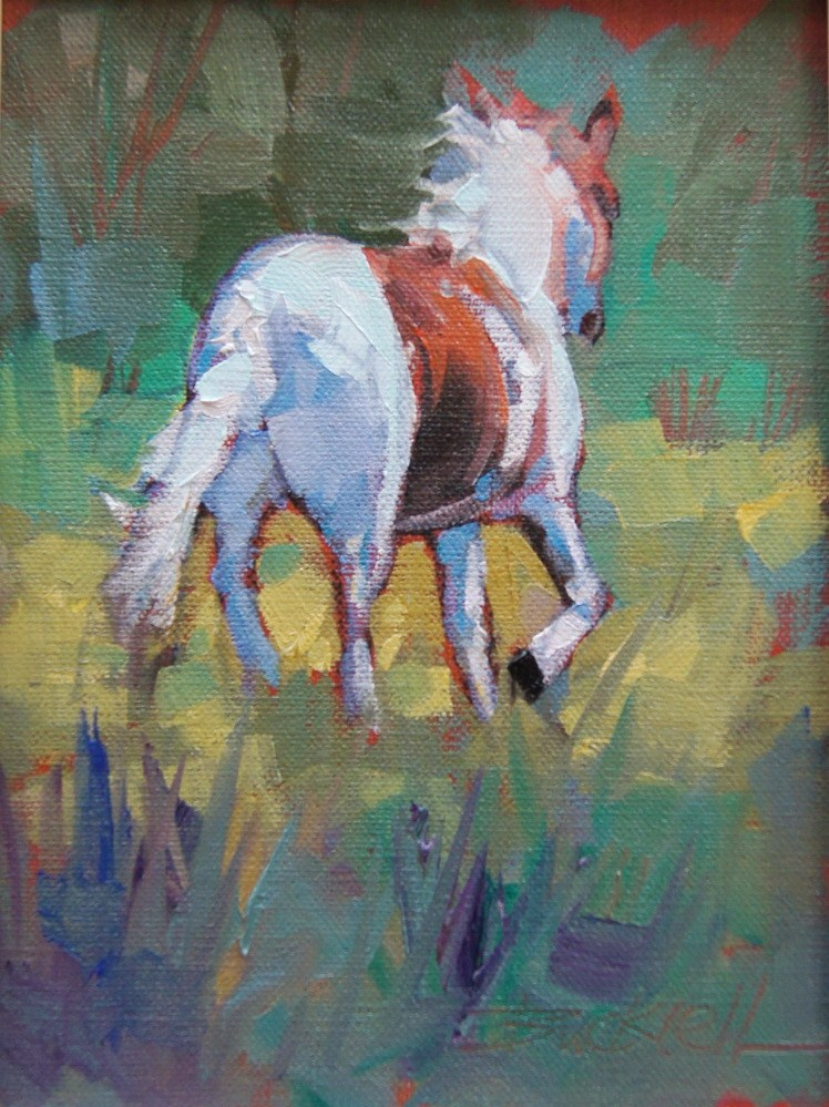 """On the Run"" original fine art by Brian Buckrell"