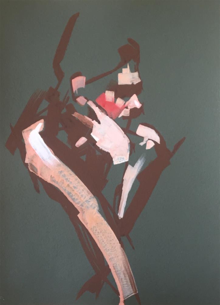 """""""No.28"""" original fine art by Kendall Portis"""