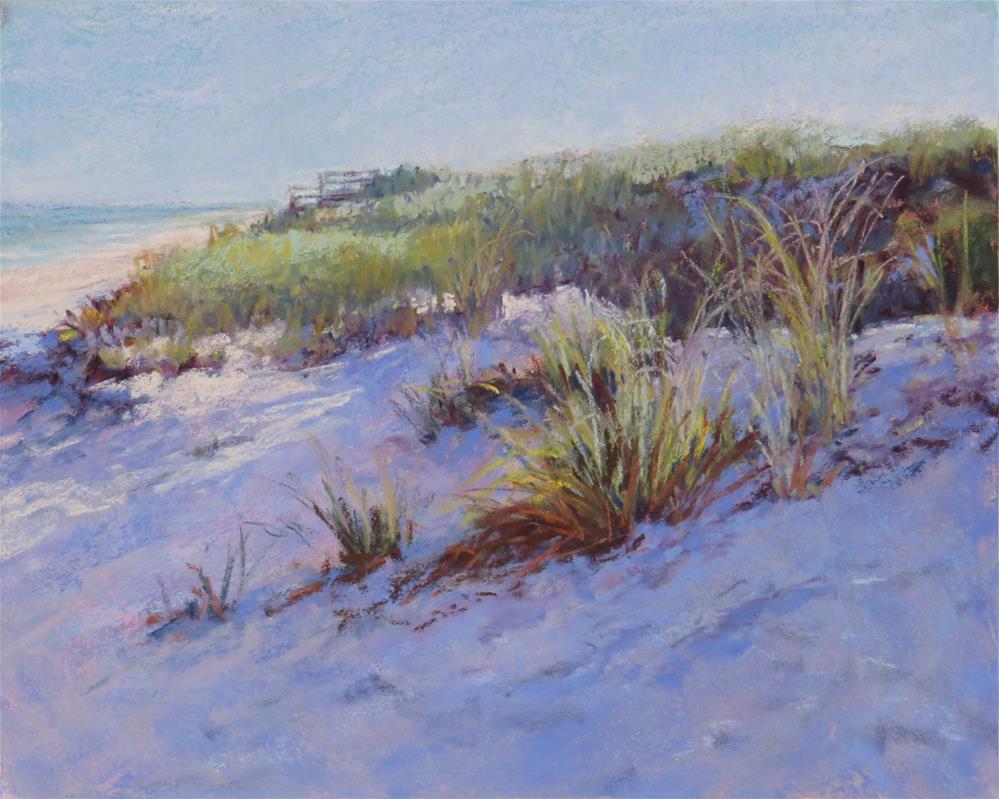"""Dune Shadows"" original fine art by Marsha Savage"
