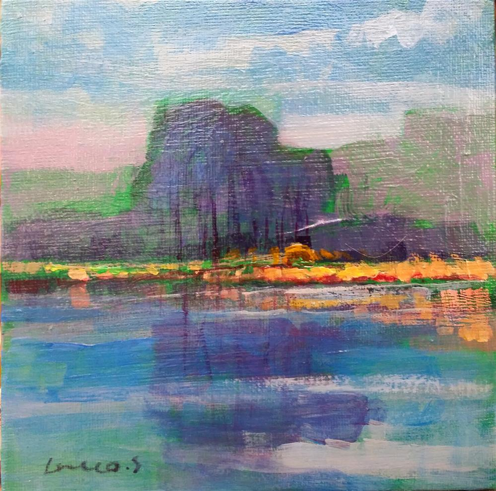 """landscape #10"" original fine art by salvatore greco"