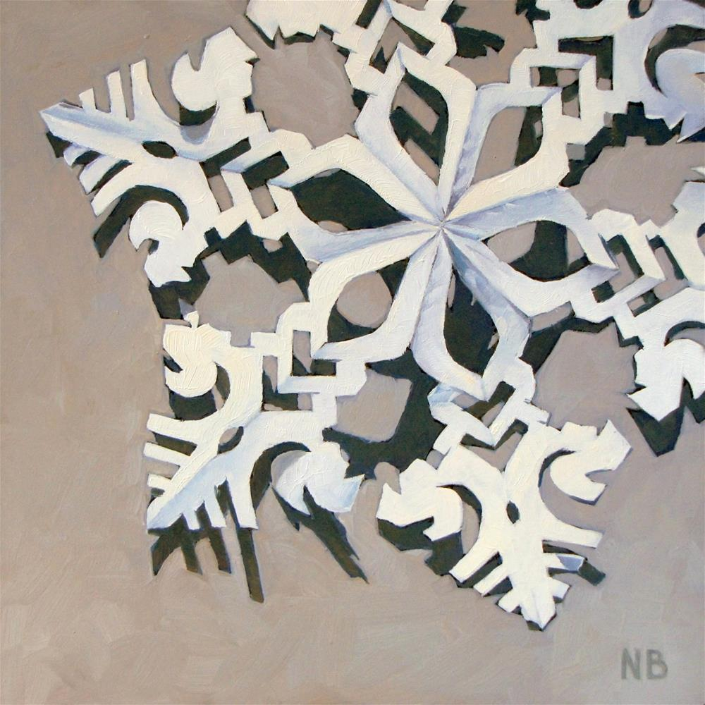 """Paper Cut"" original fine art by Nora Bergman"