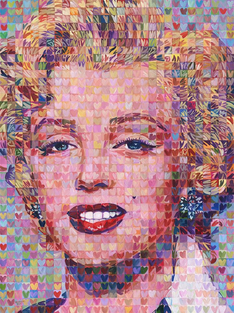 """I ♥ Marilyn #7"" original fine art by Randal Huiskens"
