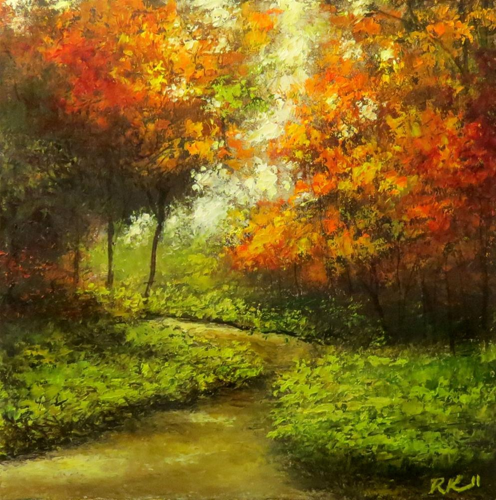 """The Change of Season"" original fine art by Bob Kimball"