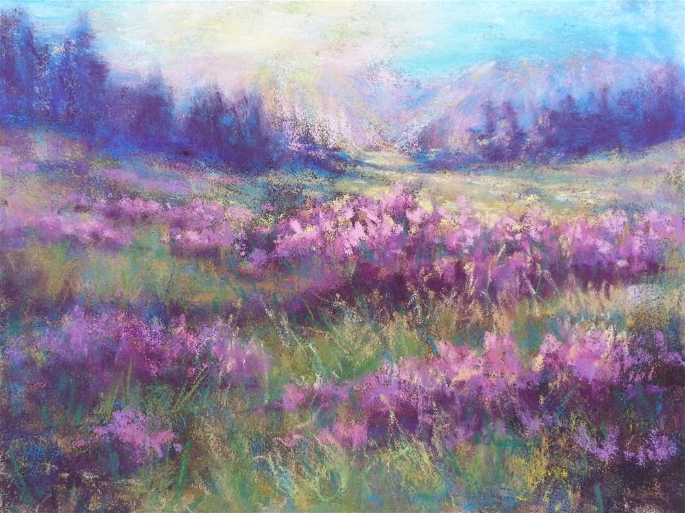"""Schofield Morning 1"" original fine art by Becky Chappell"