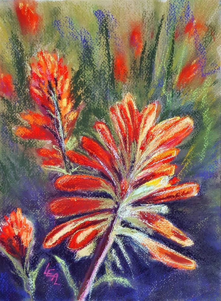 """Paintbrush Array"" original fine art by Anna Lisa Leal"