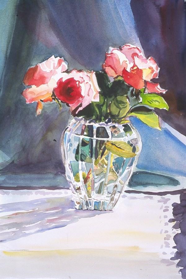 """""""Crystal Study"""" original fine art by Carol Cochran"""