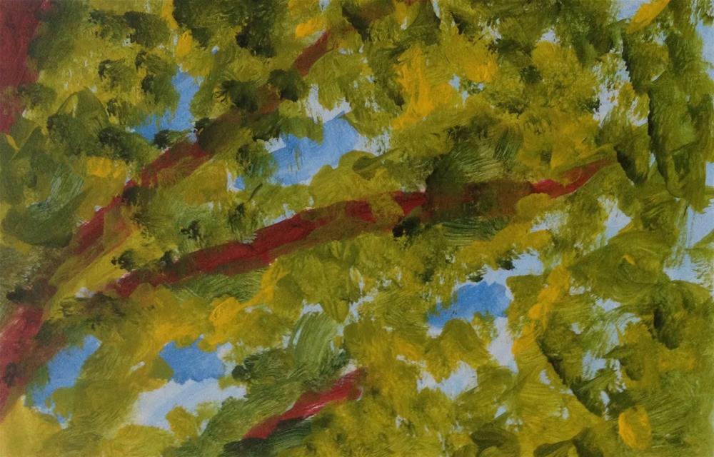"""""""Fourth Interpretation"""" original fine art by Dotty  Seiter"""