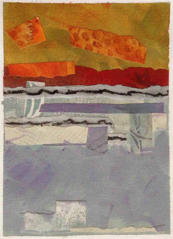 """Shenandoah Valley Airport Tarmac"" original fine art by Dotty  Seiter"