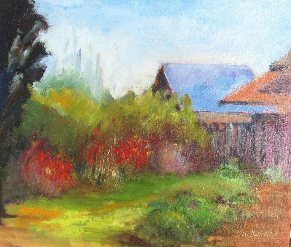 """Descanso Gardens, Montrose, California"" original fine art by Karla Bartholomew"