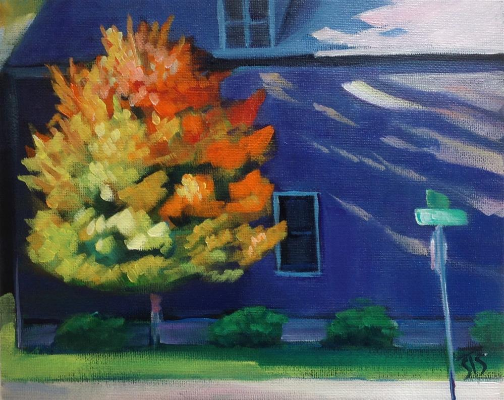 """Prettiest Tree in West Central"" original fine art by Susan Suraci"