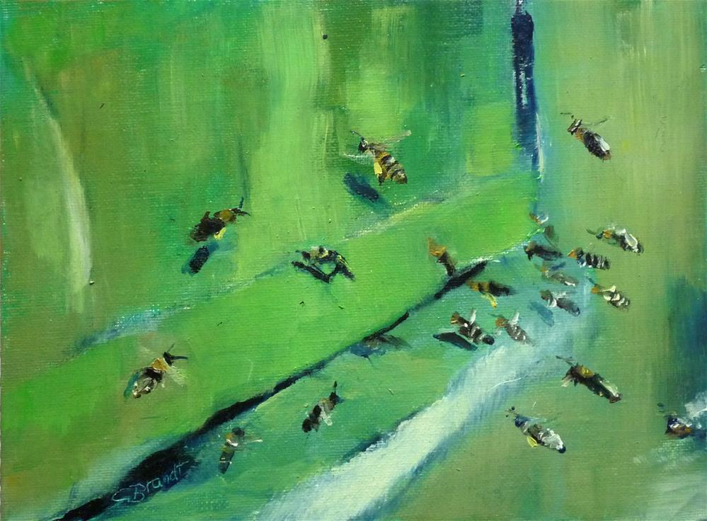 """busy"" original fine art by Claudia Brandt"