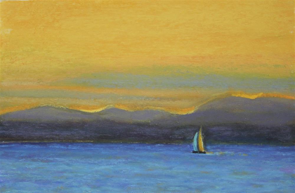 """Summer Memory"" original fine art by Sharon Lewis"