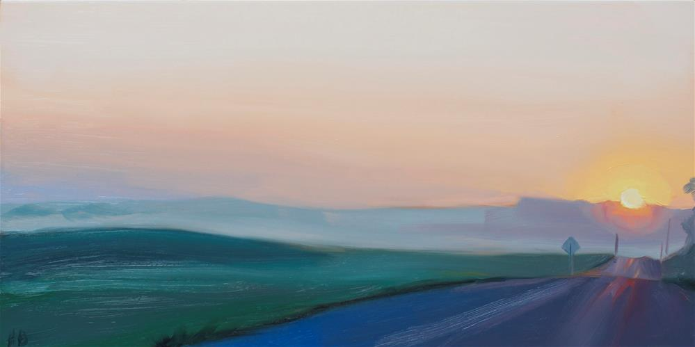 """Morning"" original fine art by Heather Bullach"