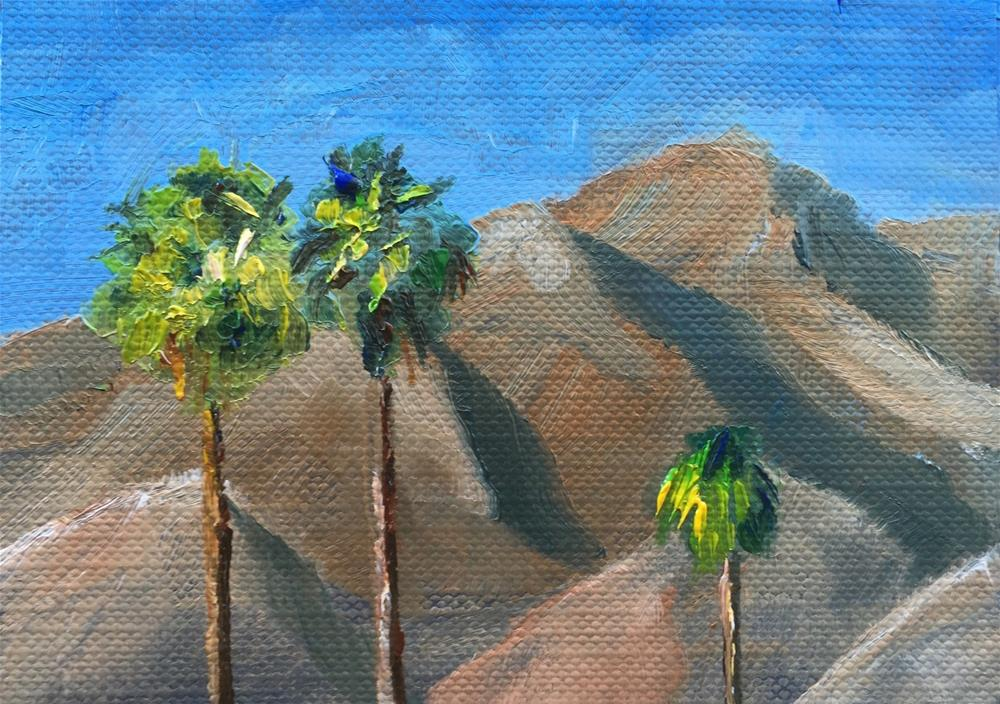 """Palm Springs"" original fine art by Gary Bruton"