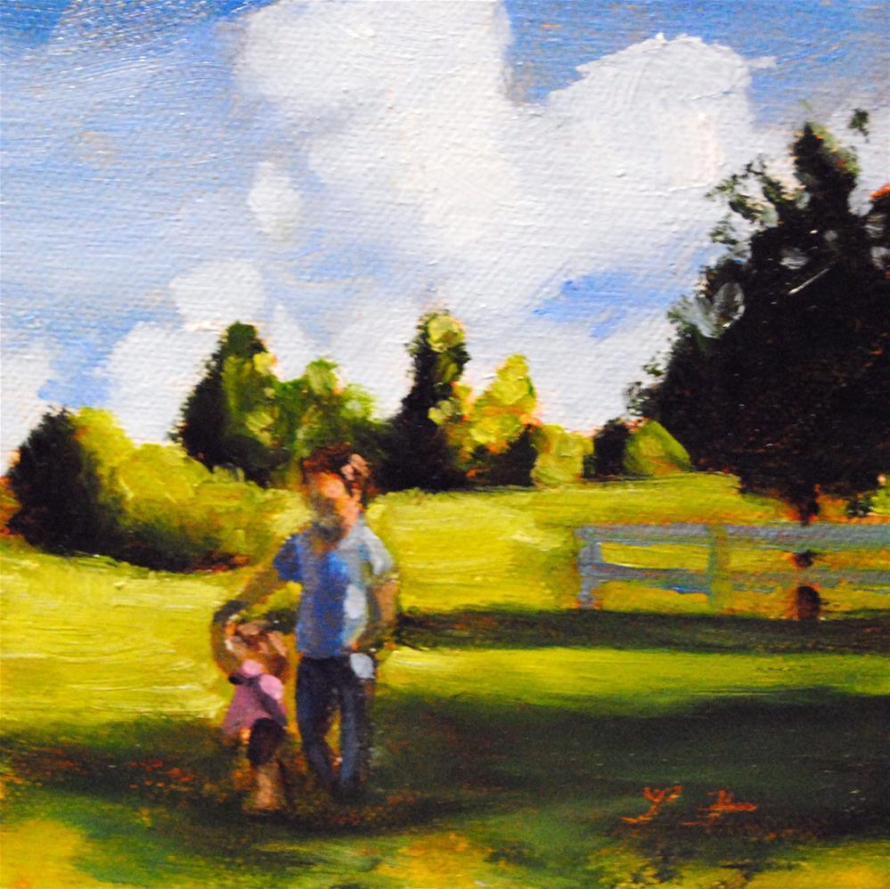 """The Dance"" original fine art by Lori Jacobs - Farist"