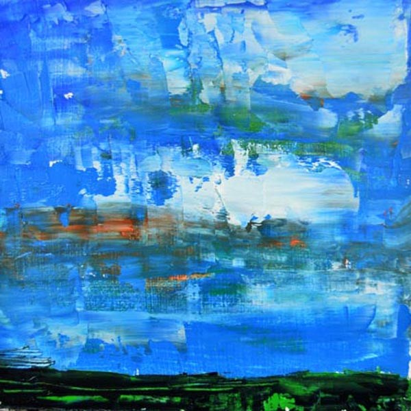 """Landscape No 58"" original fine art by Katie Jeanne Wood"