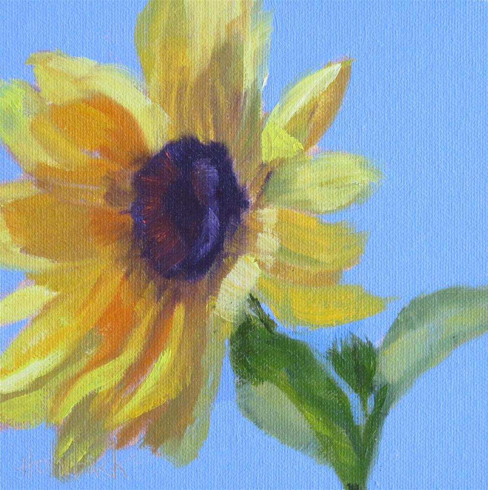 """Sun Kissed"" original fine art by Pam Holnback"