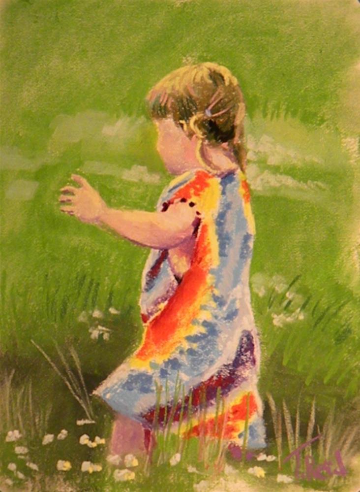 """Among the clover"" original fine art by Toby Reid"