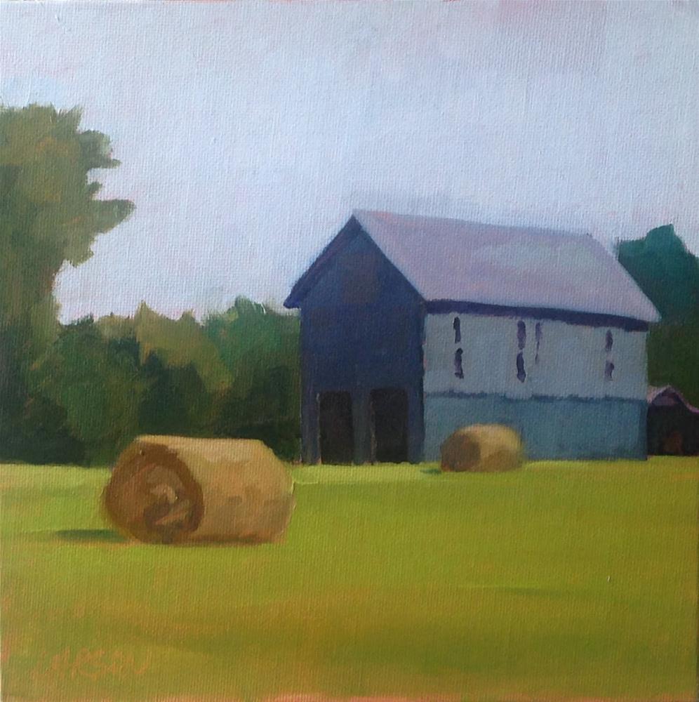 """""""Rolling thru Kentucky"""" original fine art by Eric Larson"""