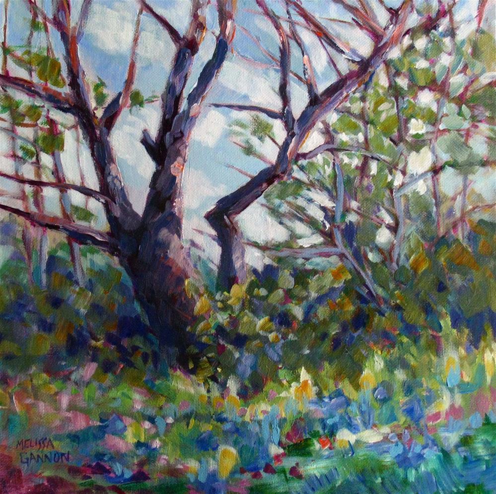 """Camassia Spring"" original fine art by Melissa Gannon"