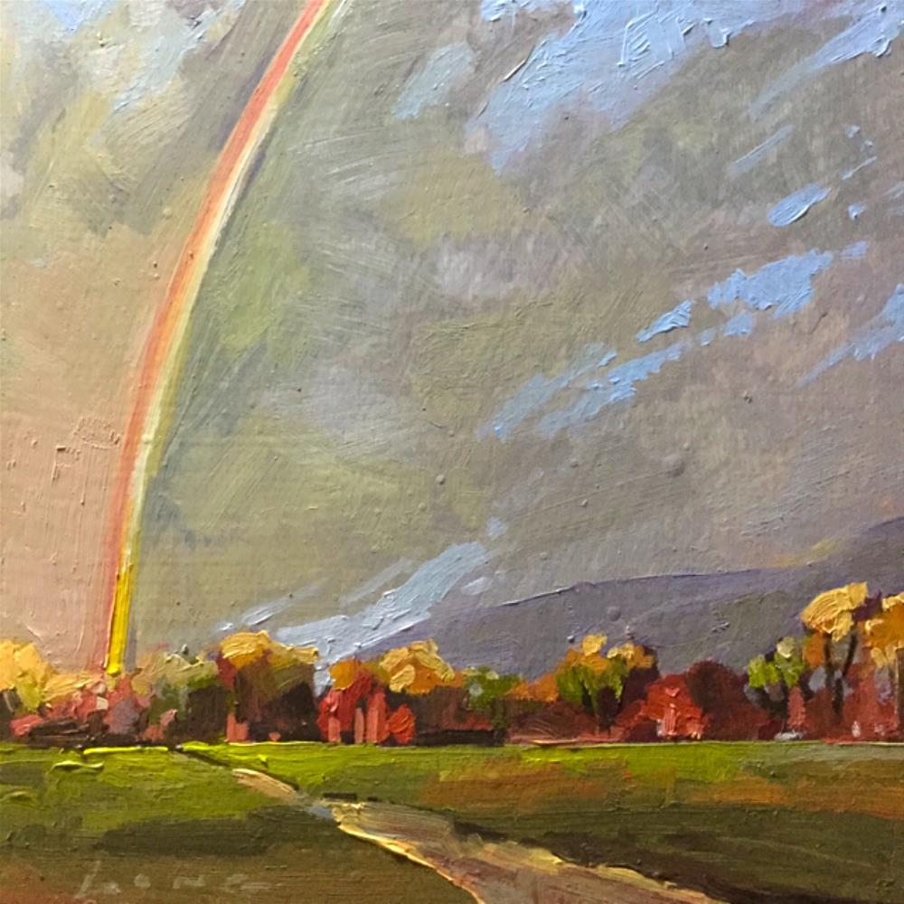 """Rainbow"" original fine art by Chris Long"
