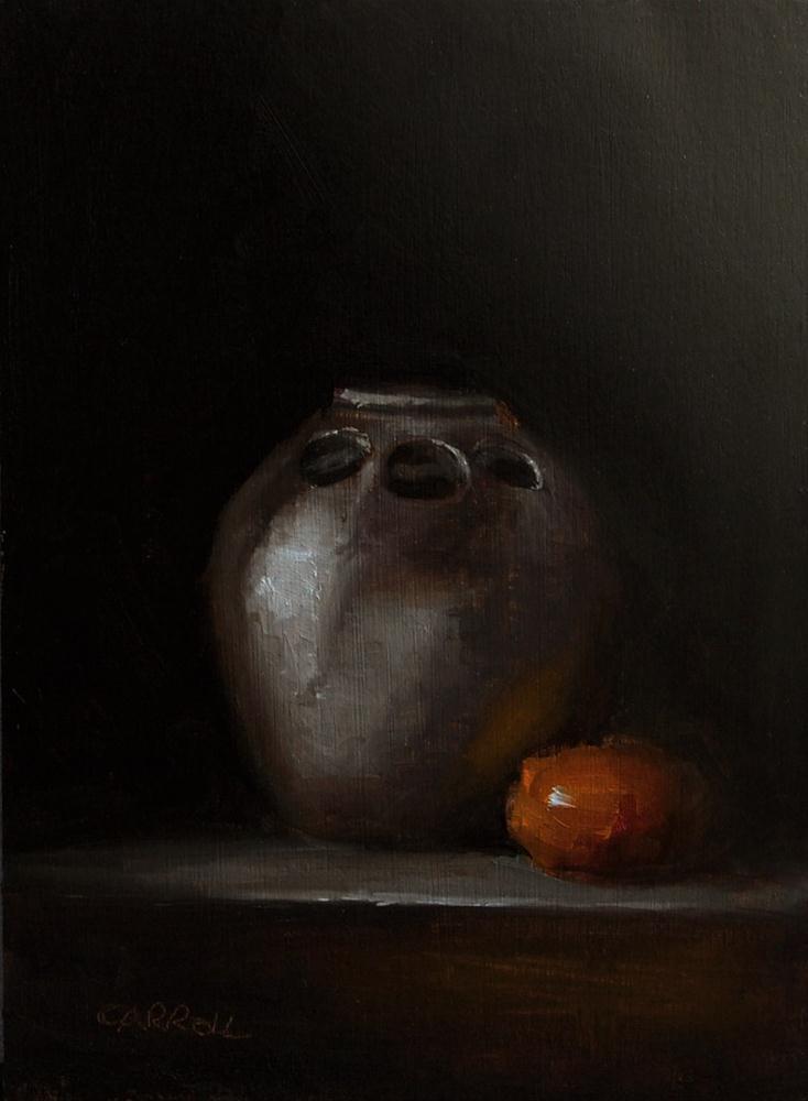 """Stem Vase"" original fine art by Neil Carroll"