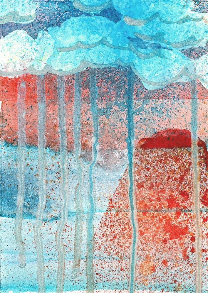 """Silver Lining Sunrise"" original fine art by Tonya Doughty"