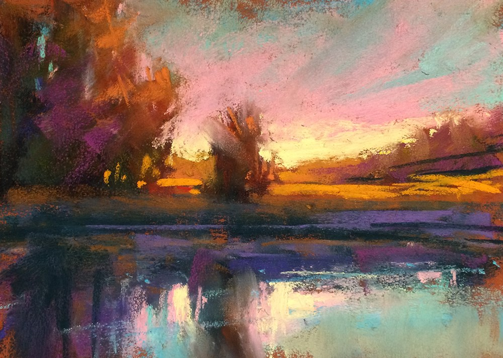 """Mollala Evening"" original fine art by Marla Baggetta"