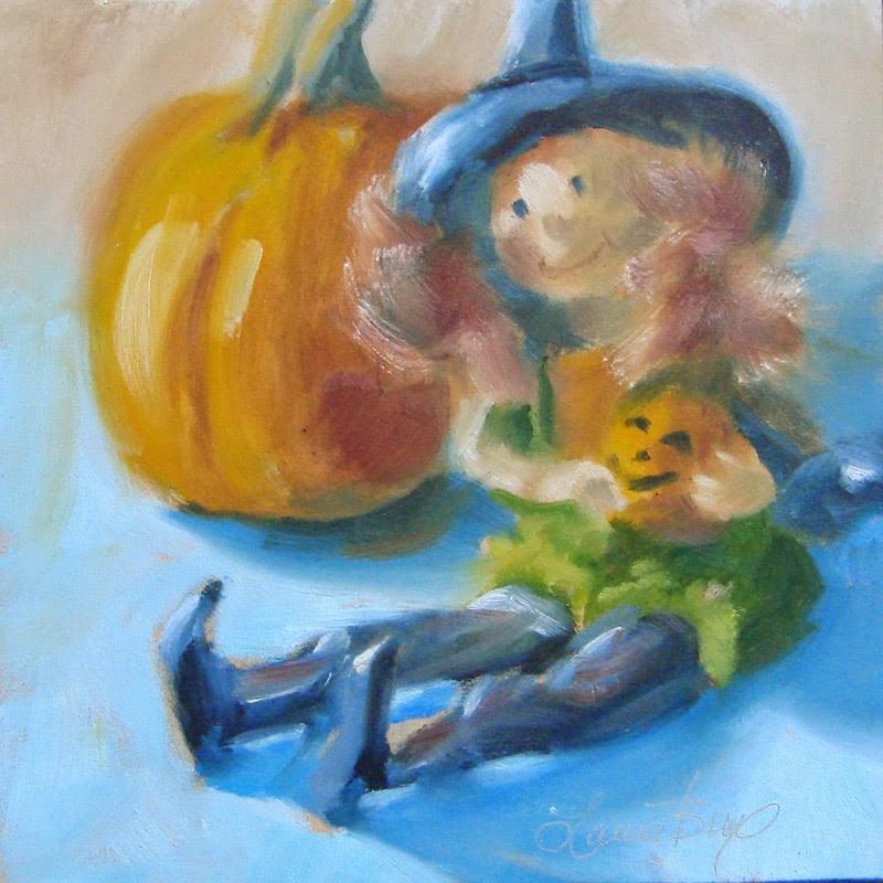 """Good Witch 290"" original fine art by Laura  Buxo"