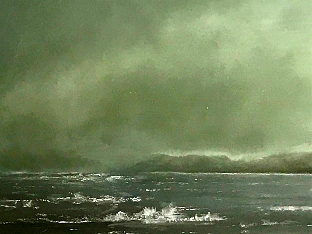 """""""surf"""" original fine art by Betty Argiros"""