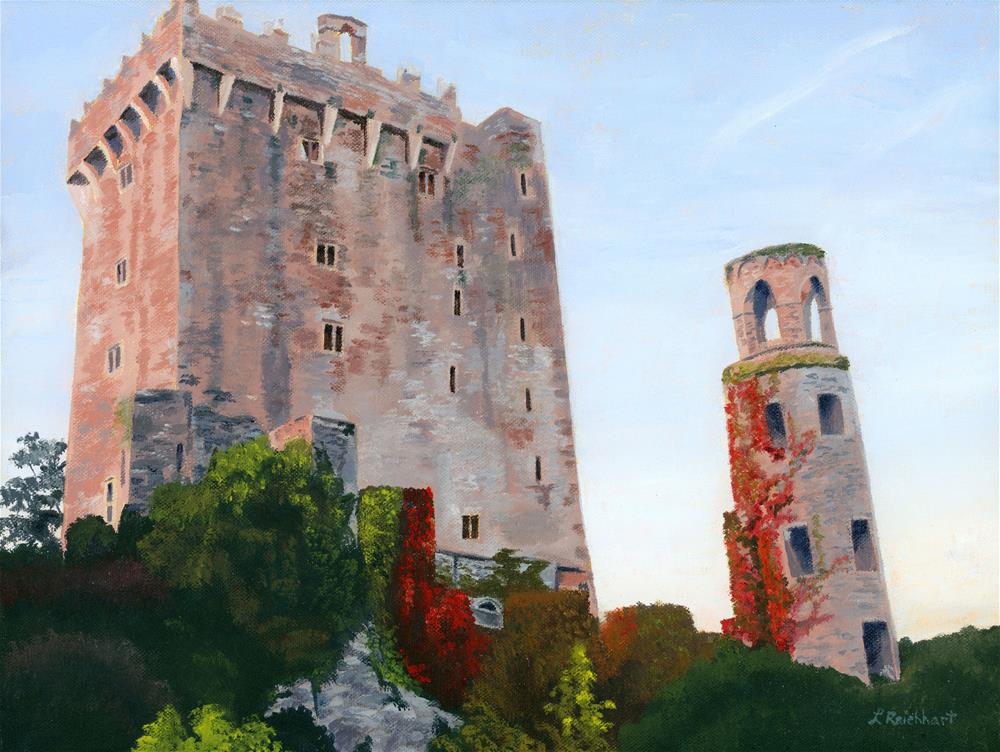 """Blarney Castle"" original fine art by Lynne Reichhart"