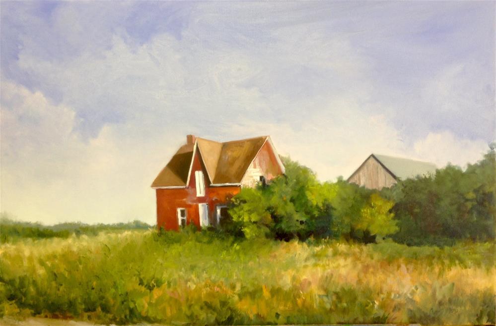 """""""Manitoulin Homestead"""" original fine art by Cathy Boyd"""