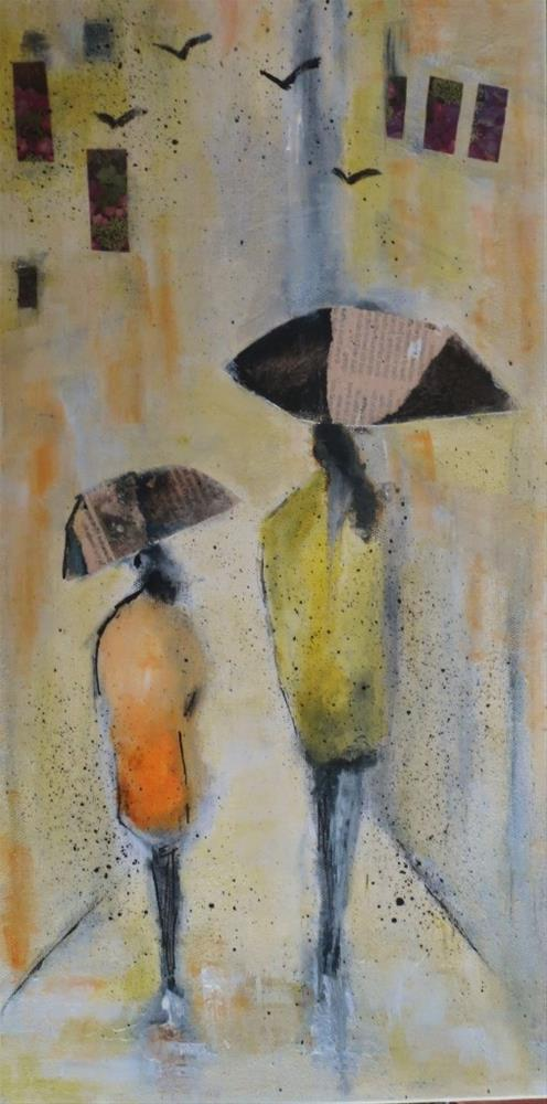 """Mother and Daughter"" original fine art by Astrid Buchhammer"