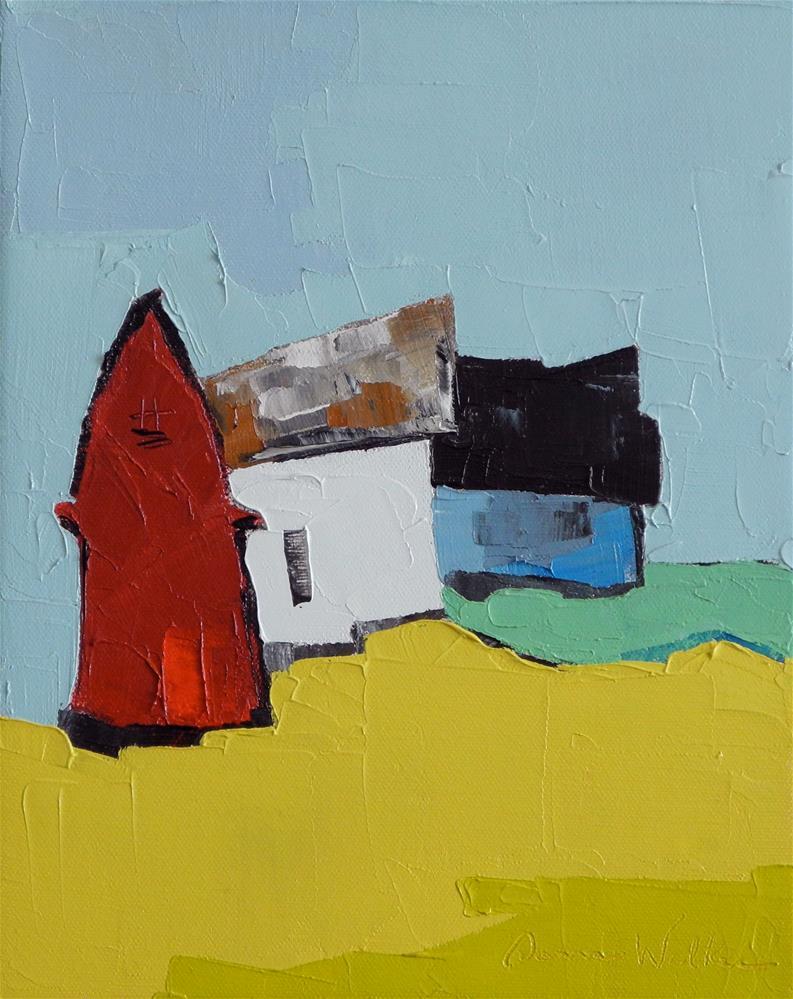 """""""Primary Trio"""" original fine art by Donna Walker"""