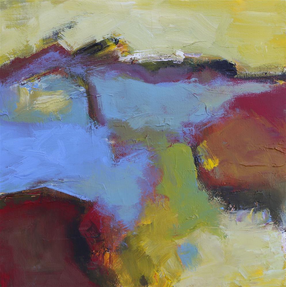 """New Horizon"" original fine art by Elizabeth Chapman"