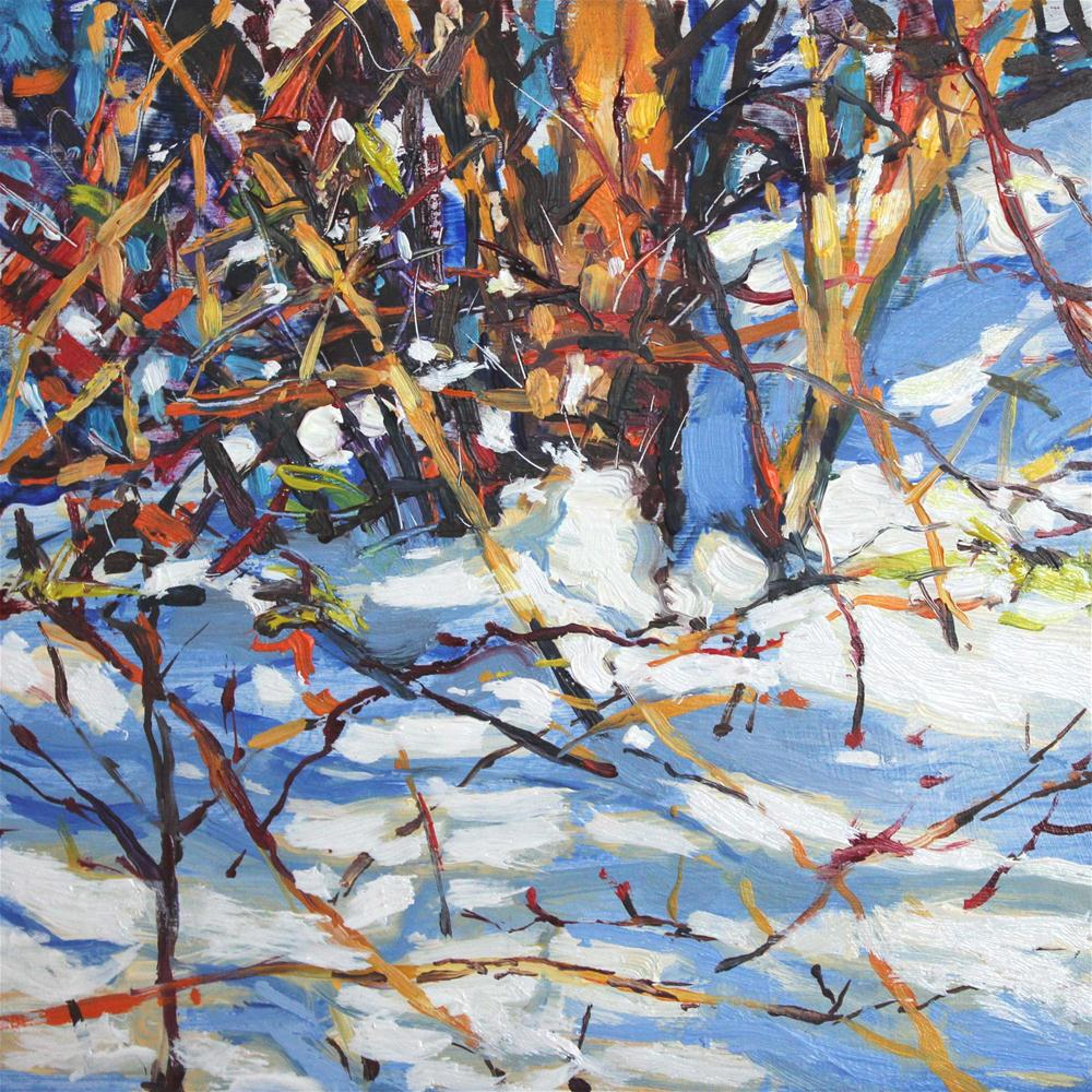 """Snow Patrol"" original fine art by Ken Devine"
