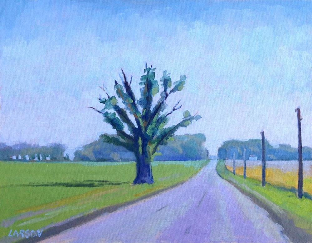 """Sentinel"" original fine art by Eric Larson"