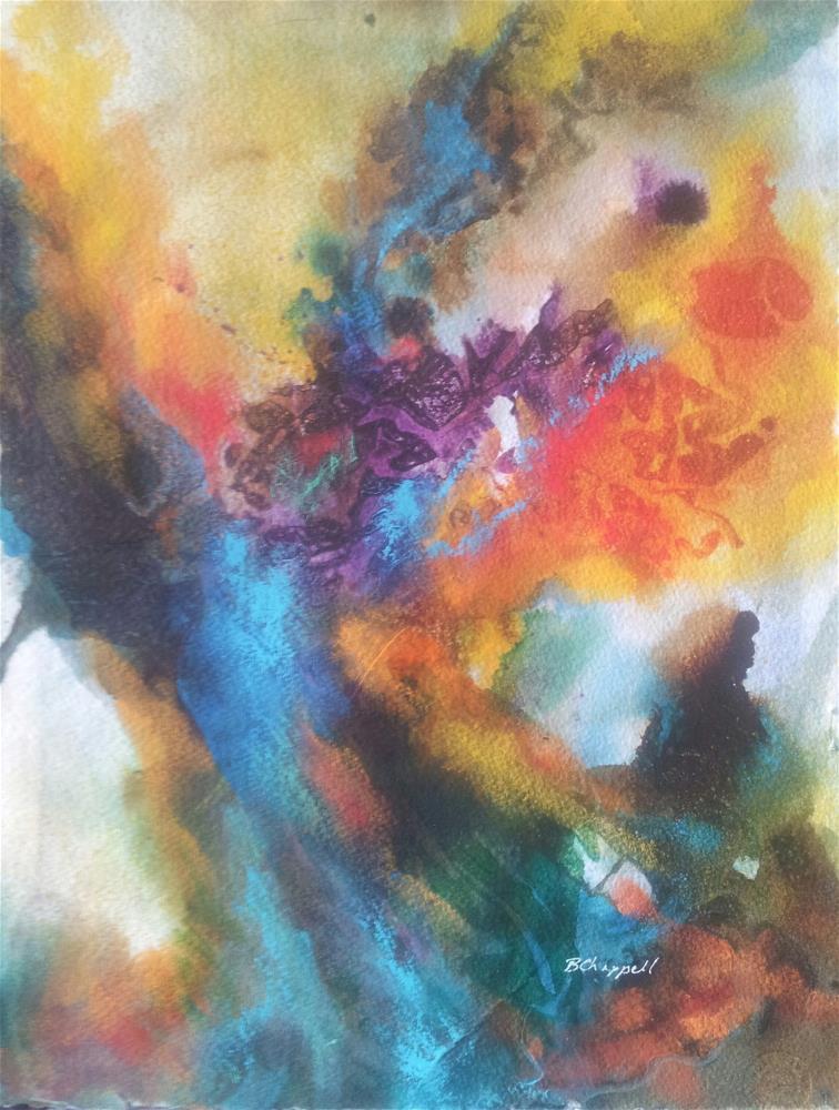 """""""Phoenix"""" original fine art by Becky Chappell"""