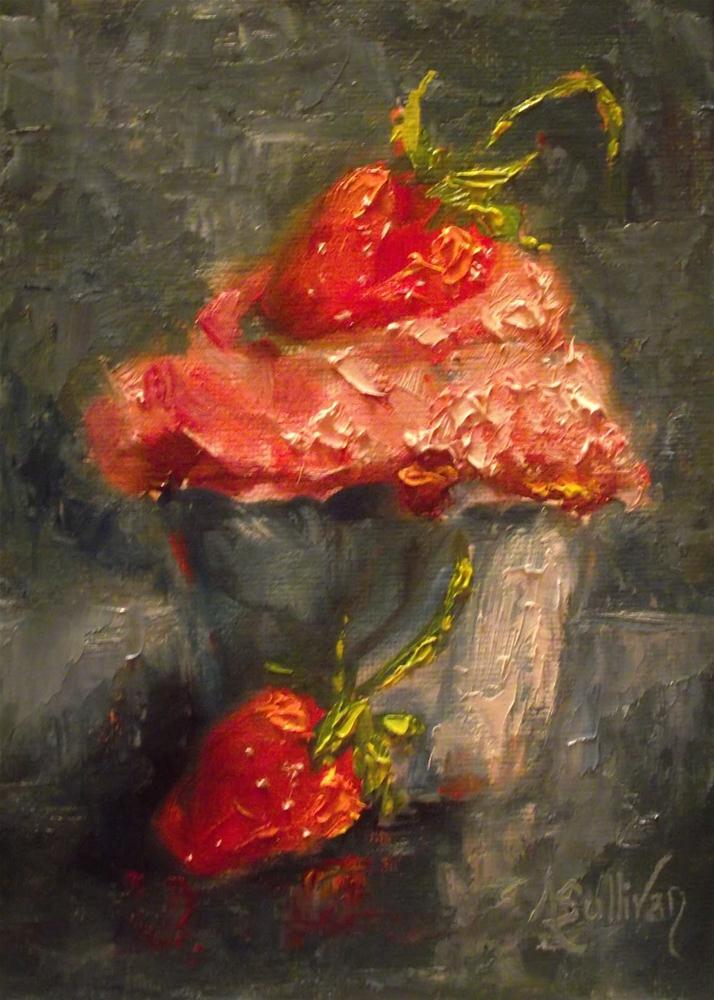 """Strawberry Fields by Angela Sullivan"" original fine art by Angela Sullivan"