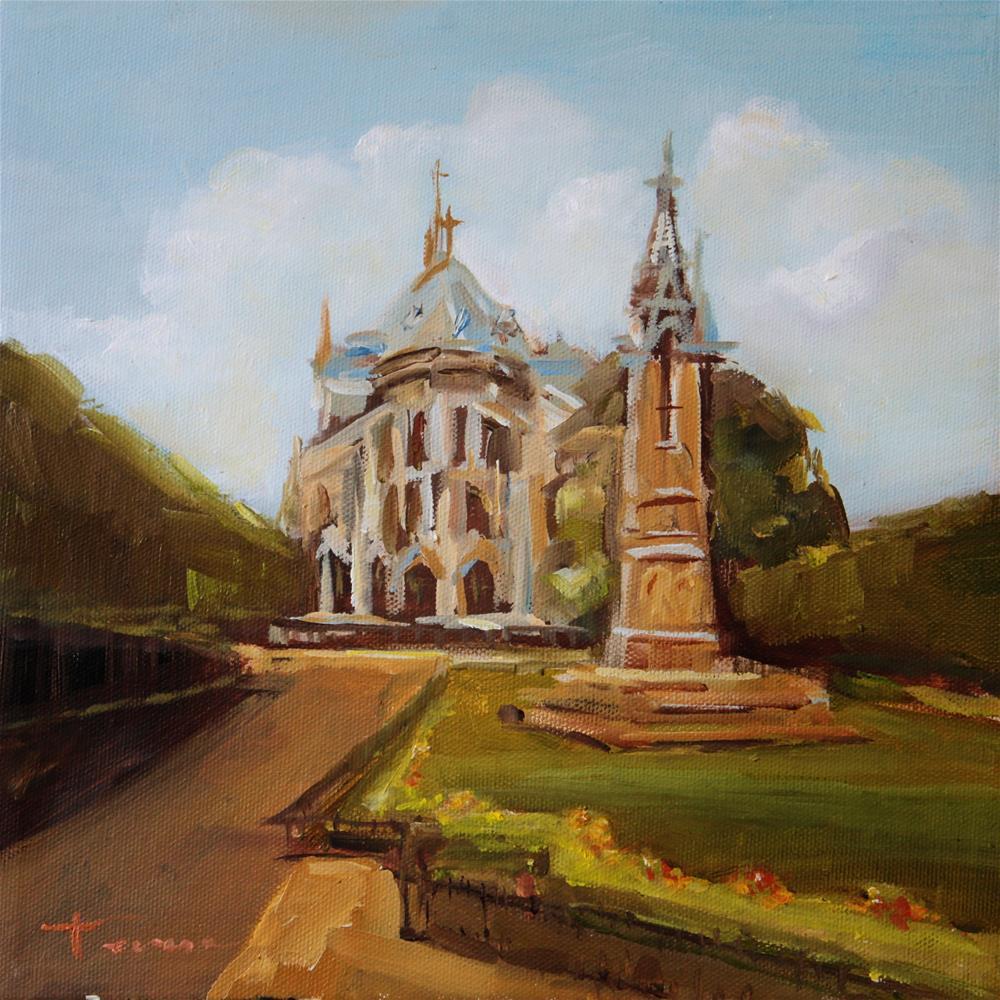 """Cathedral - 01"" original fine art by Teresa Yoo"
