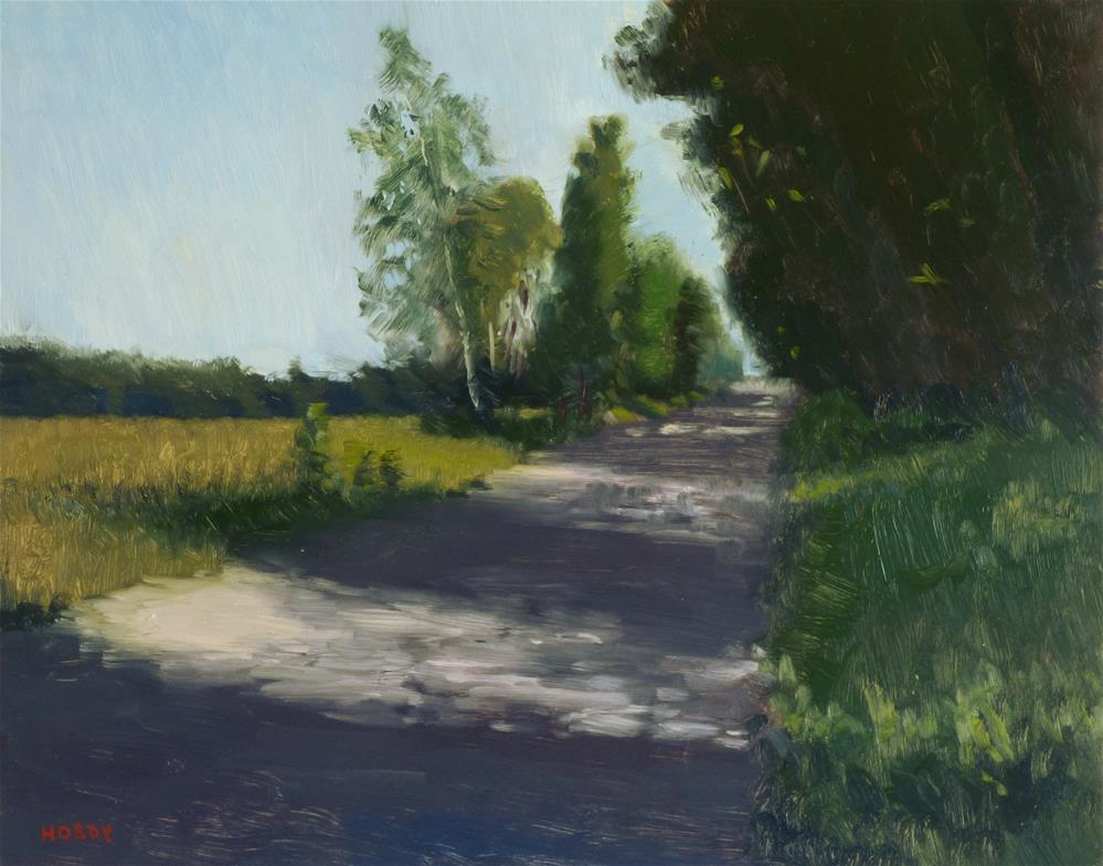 """Dirt Road"" original fine art by Weston Hobdy"