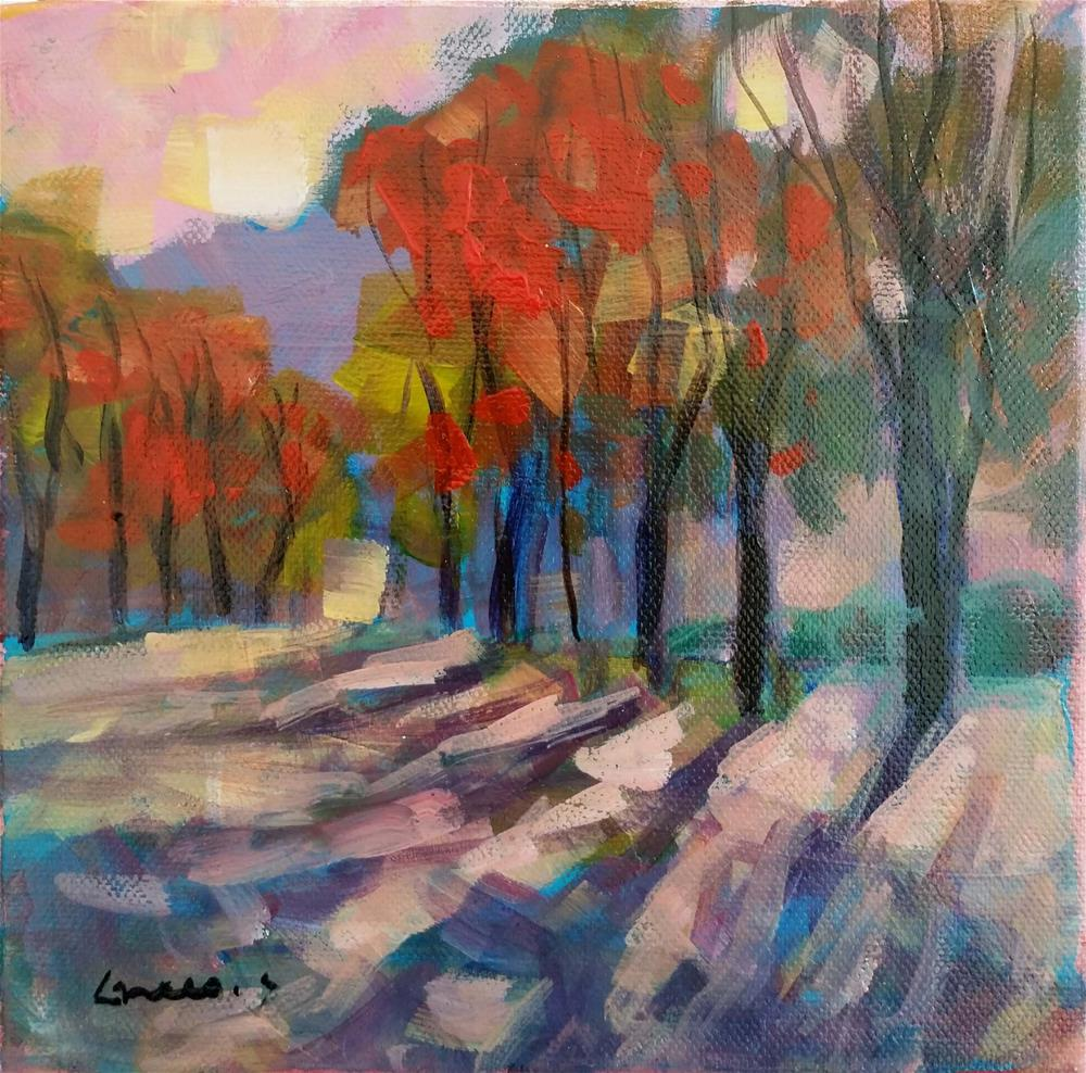 """landscape #3"" original fine art by salvatore greco"