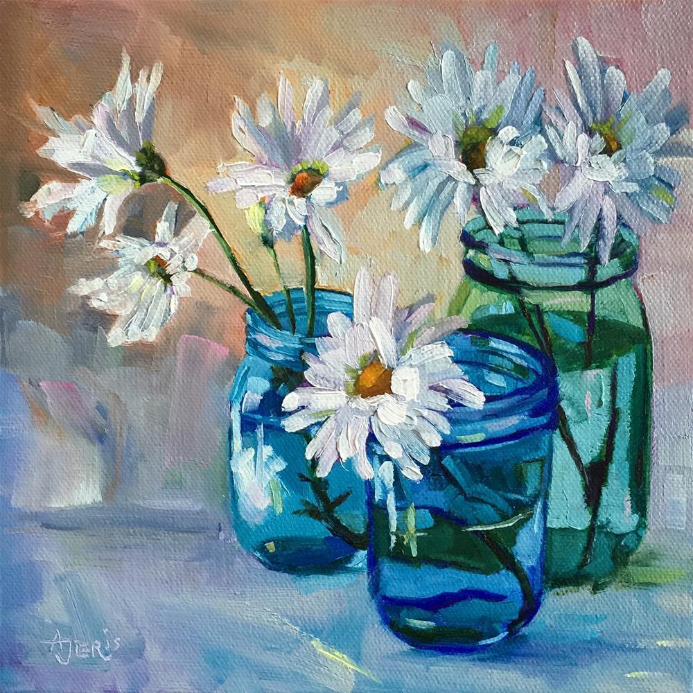 """""""Jar Collection"""" original fine art by Andrea Jeris"""