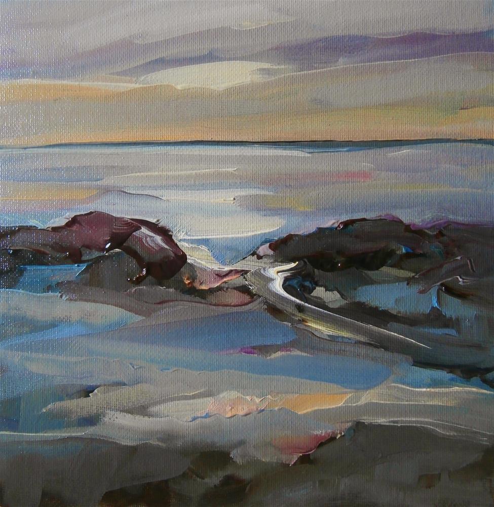 """Solitude"" original fine art by Anne Wood"