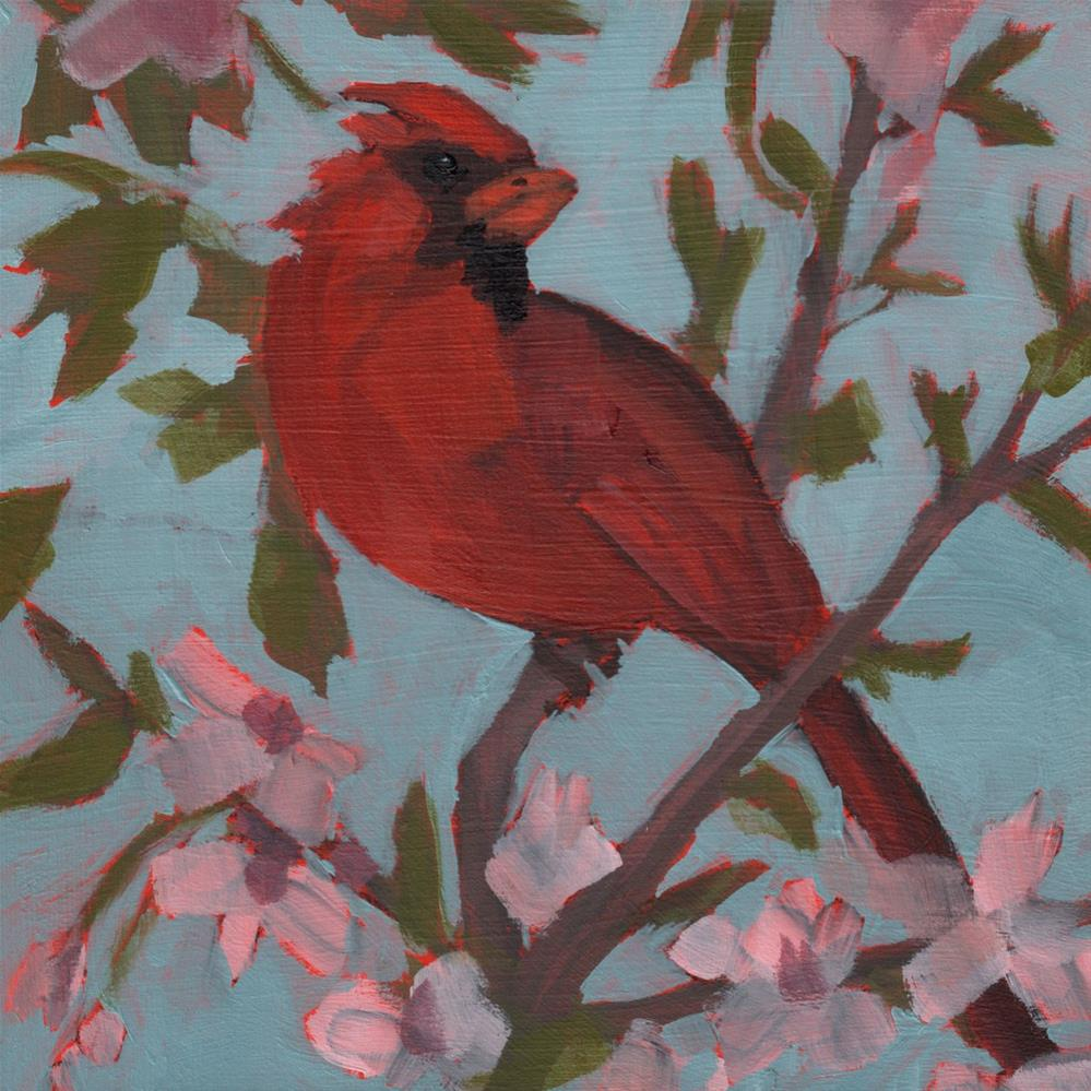 """Cardinal Virtues (#386)"" original fine art by Debbie Miller"