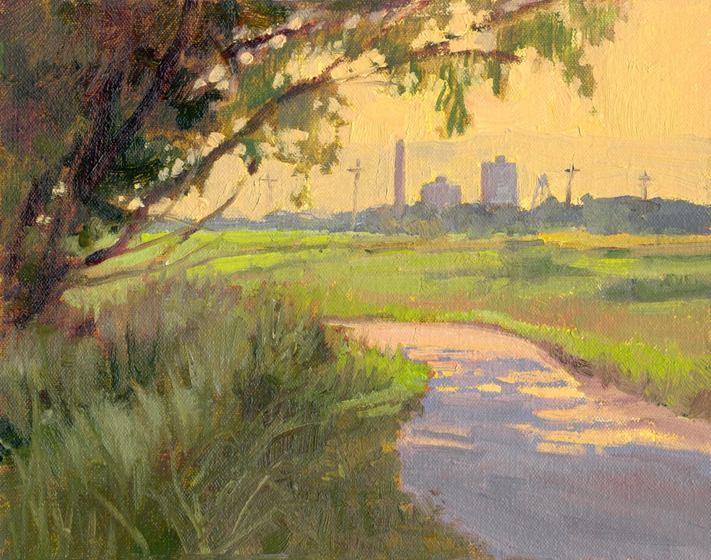 """Afternoon Glow"" original fine art by Kath Reilly"