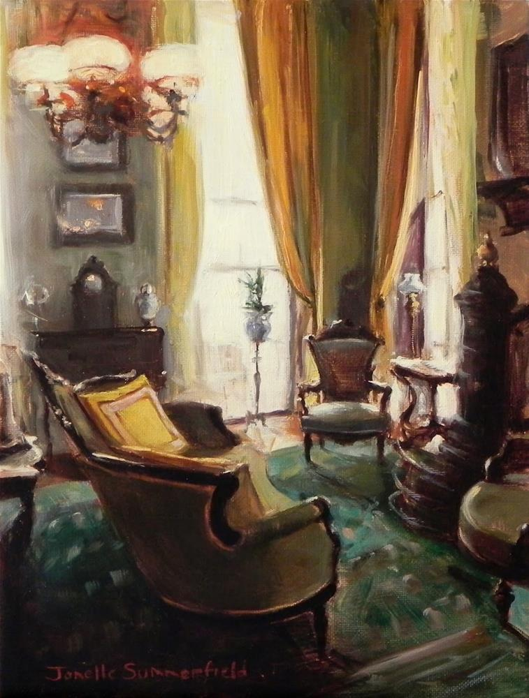 """Parlor"" original fine art by Jonelle Summerfield"