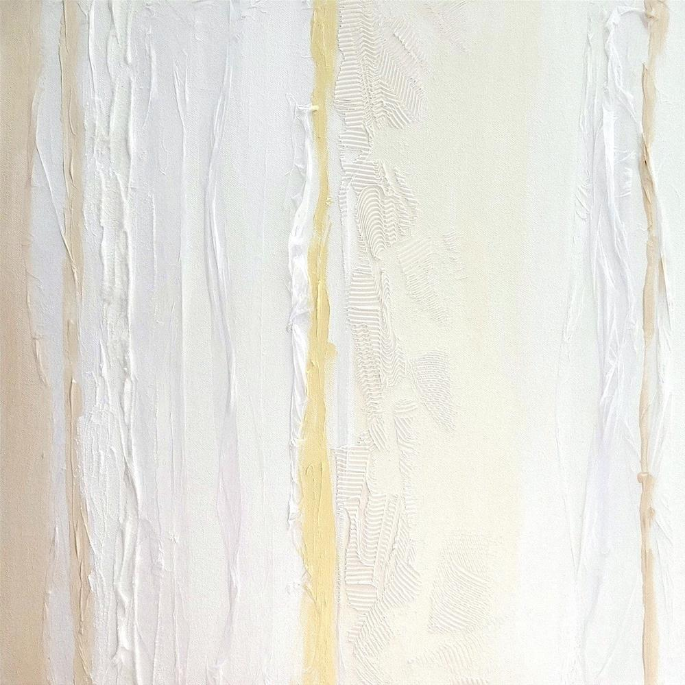 """5094 - White Lines IV"" original fine art by Sea Dean"